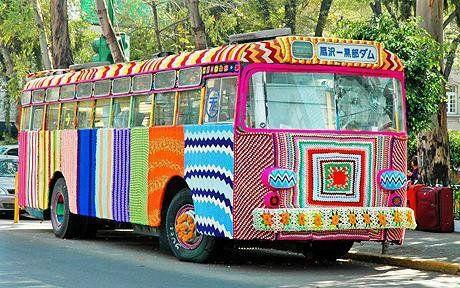 Le bus en tricot