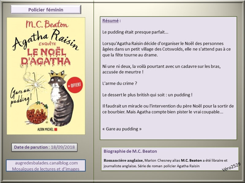 le noel d'agatha raisin mc beaton