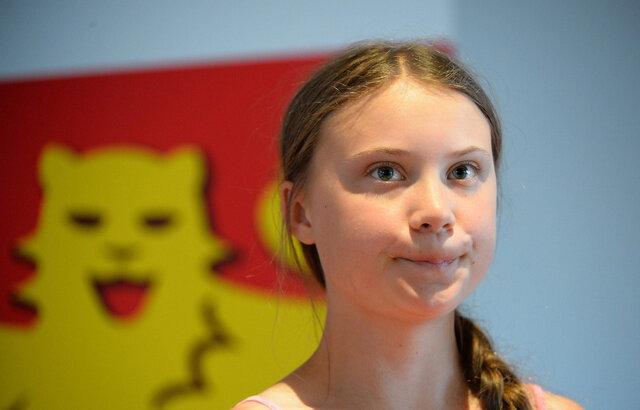 La Suédoise greta Thunberg est la médiatisation enfantine de la lutte contre le climat sous l heure d'été de 1942
