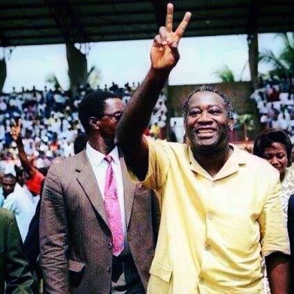Interview du Président Laurent Gbagbo au journal ivoire dimanche