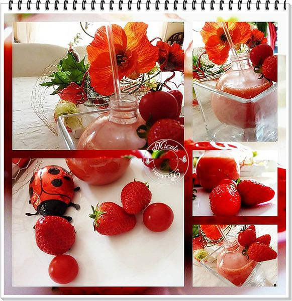 smoothie tomate fraise