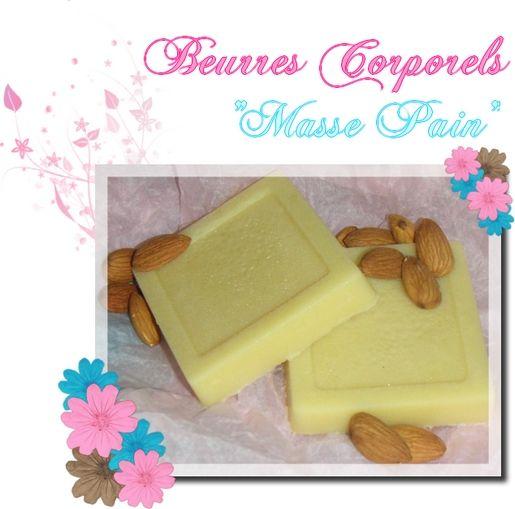 beurres corporels maison fait main barre de massage