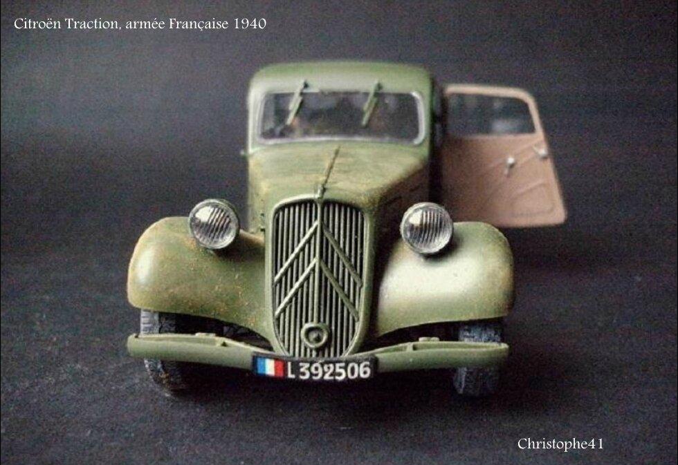 Citroën Traction, armée Française 1940 - PICT5028