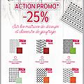 Action promo sur les matrices de découpe et les classeurs de graufrage