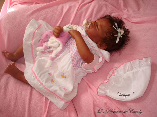 fille reborn africaine
