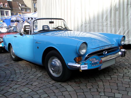 SUNBEAM Alpine IV Convertible Festival Automobile de Mulhouse 2009 2
