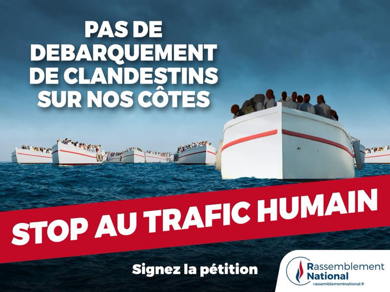 Stop au trafic humain