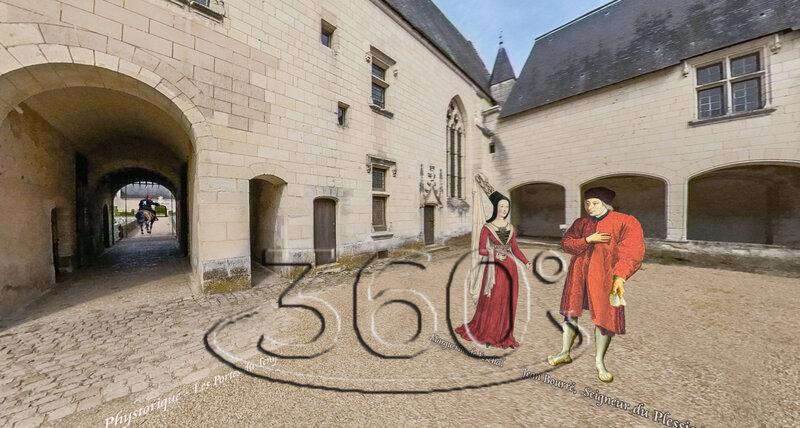 Marguerite DE FESCHAL - Jean Bourré, Seigneur du Plessis Bourré 1480, Violences des Bretons dans la région de Montaigu en Poitou, Louis XI roi de France demande à son capitaine Jean B