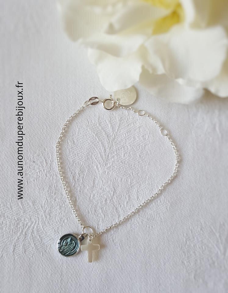 Bracelet Notre Dame de Paris (bleu) - 29 €