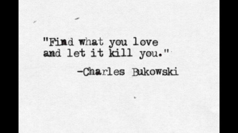 Les Poemes De Charles Bukowsky Hoppsnchucky