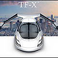 Image du jour - terrafugia tf x - la voiture volante ! - 4 photos + video