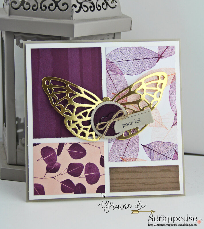 Carte Papillon Stampin'up