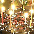 Special halloween : spidergateau