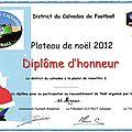 PLATEAU DE NOËL U6 U7 MOYAUX 22 décembre 2012