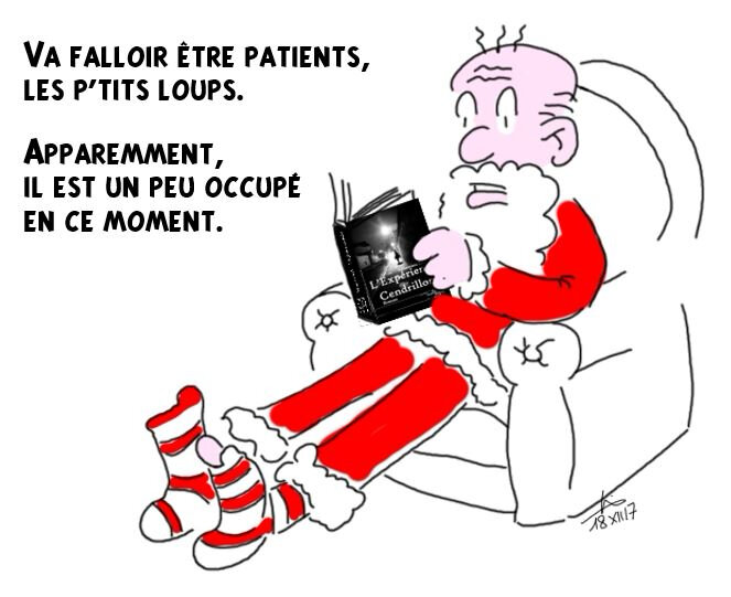 Père Noël is currently not available - Do not disturb