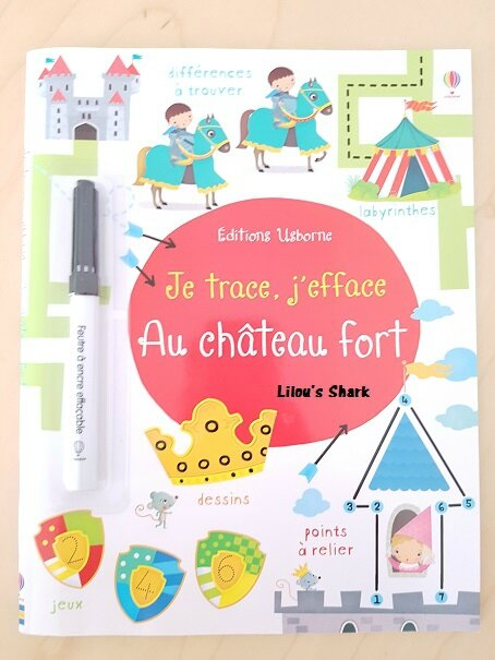je trace j'efface chateau fort
