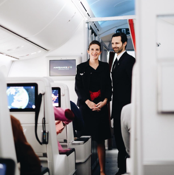 Photo Intagram Air France787