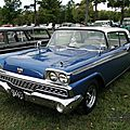 Ford fairlane 500 galaxie club victoria hardtop coupe-1959