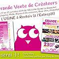 l'usine-roubaix-vente-creatrices-exponentielle-2014-salon-expo-affiche-planche-owly-mary-du-pole-nord
