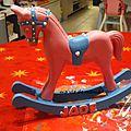 Petit cheval en bois personnalisé