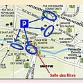 Plan des parkings à saint piat