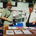 Forum 2007 Stand avec Claude et Henri Sept07
