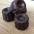 Et si on craquait... cannelés chocolat noisettes