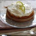 Gâteau tout doux au citron vert