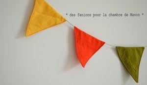 Guirlande nominative - Manon Fanions