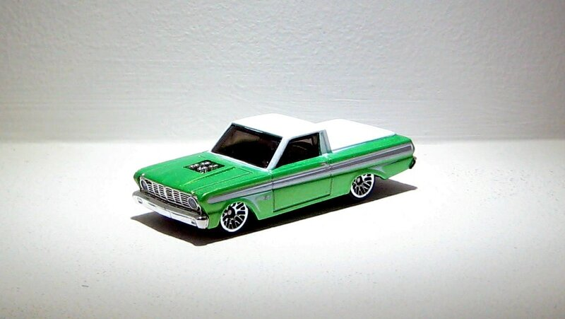 Ford ranchero pick-up de 1965 (TH)(Hotwheels 2012)