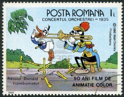 Trombone Timbre Roumanie 1986