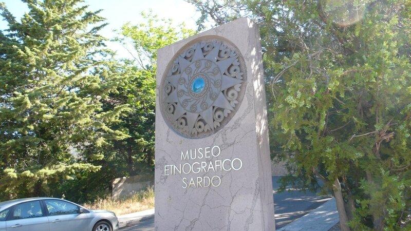 musée etnografico sardo NUORO plaque