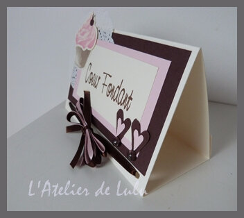 marque table personnalise cup cake