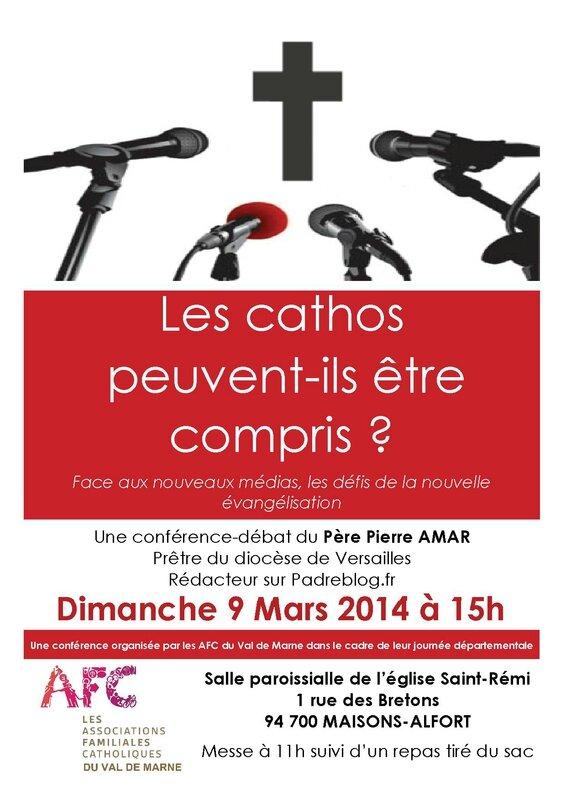 AFC Conférence 8 mars 2014