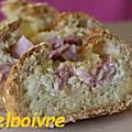 Baguette pour l' apero à l' oeuf, jambon et fromage. aguette pour l'apéro oeuf - jambon et fromage