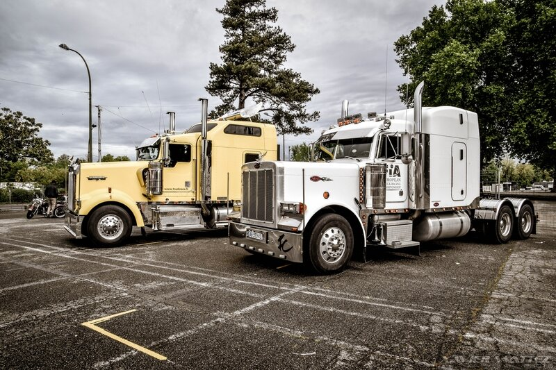 Peterbilt et Kenworth