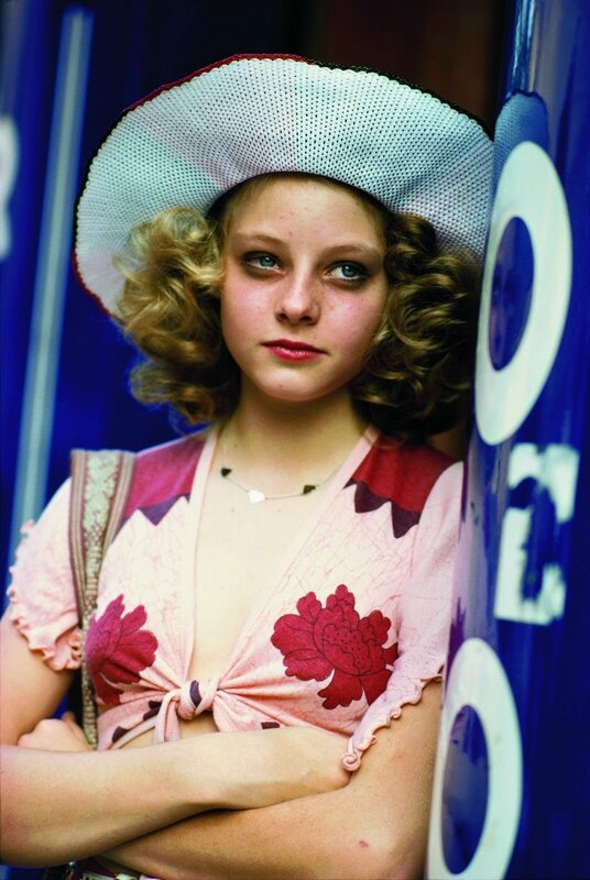 Jodie Foster on the set of Taxi Driver (6)