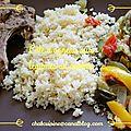 Côte d'agneau et légumes au cookeo