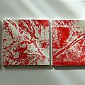 Miniatures rouges 100x20 (8x10/10)