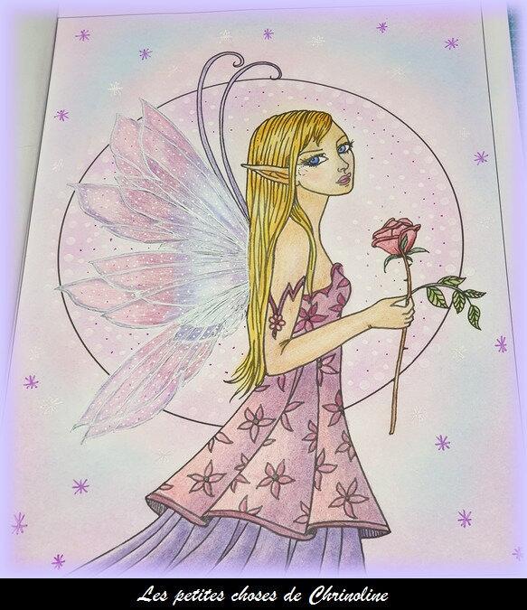 Magical fairies - fée 2 mauve