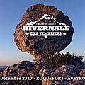 03/12/2017 : hivernale des templiers (65km) ... magnifique course ctu dans des conditions extrêmes