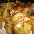 Poulet pommes et cannelle