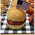 Mini-bun's (40 petits pains burgers)