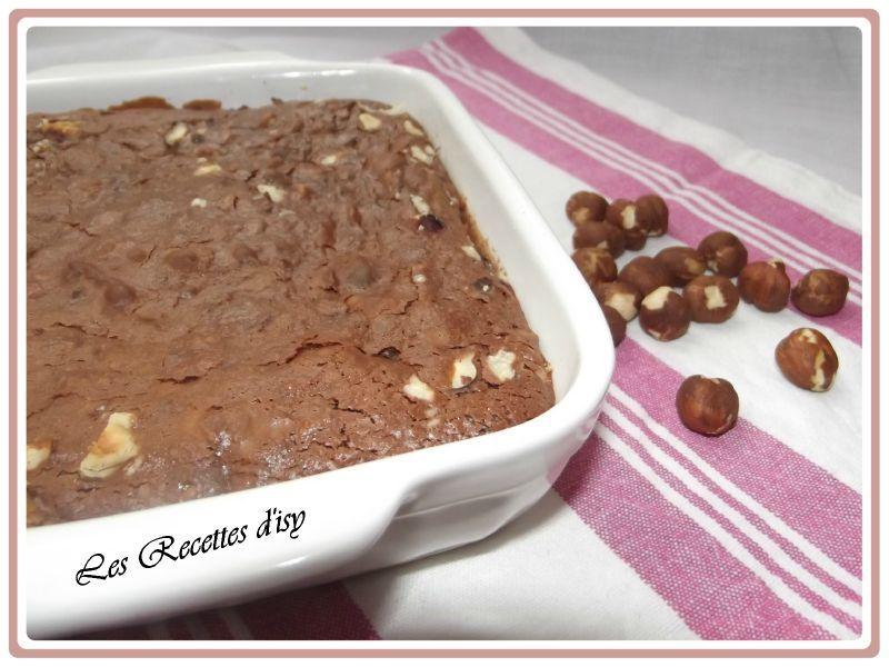 brownies aux lait concentré