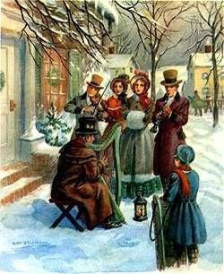 19OO voloniste de Noël