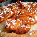 Tartelettes caramélisées aux noix de pecan et poires pécan