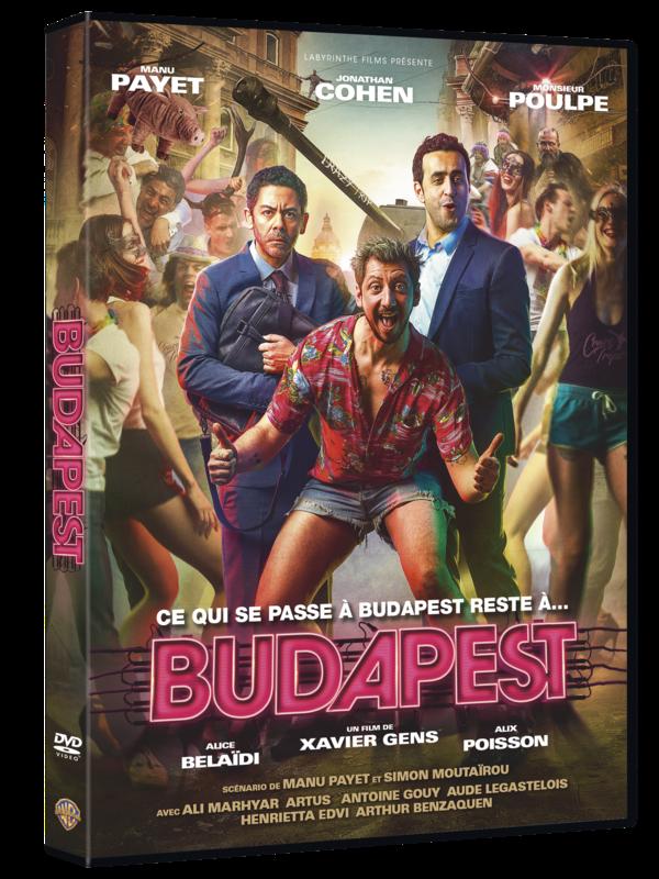 5051889642855 Budapest DVD 3D