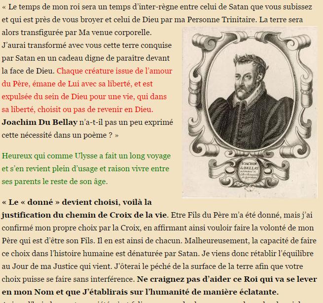 A la France boira la lie prophétie 2