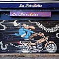 Bayonne, Rue des Cordeliers, devanture bar La pétrolette t(64)