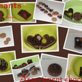 Aimants asssortiment chocolats